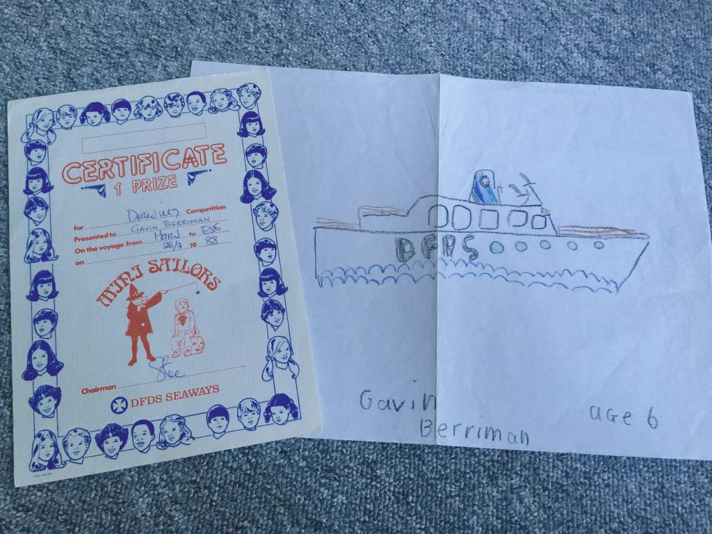 DFDS Drawing Competition 1988