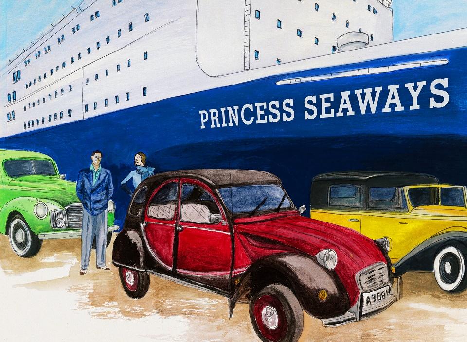 Vintage Me_Painting_Ship_Colour_blog